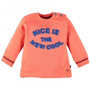 BABYFACE  | Cooles Jungen Sweatshirt in orange