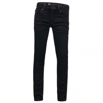 "Blue Rebel | Jungen Five Pocket Jeans ""Minor"" Comfy Skinny Fit Black"