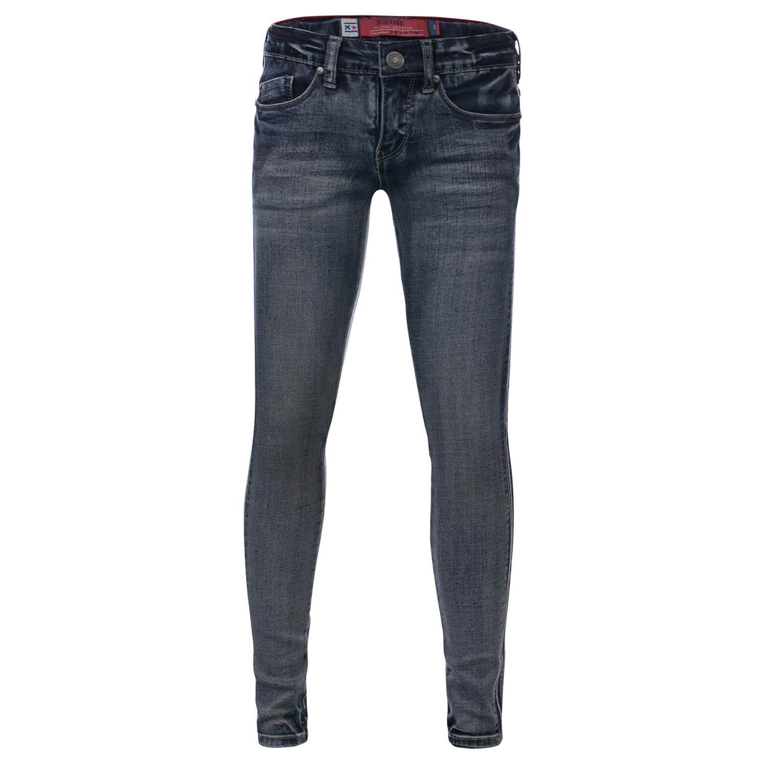 Blue Rebel M/ädchen Jeans Pyriet Comfy Skinny Spruce Wash